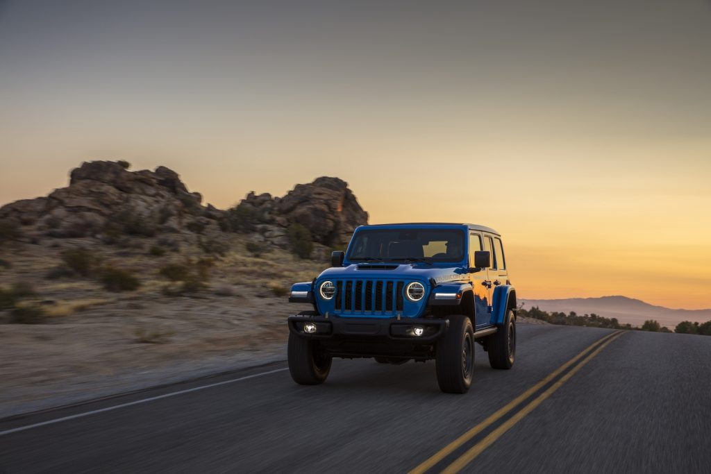 2021 Jeep Wrangler Rubicon 392 driving