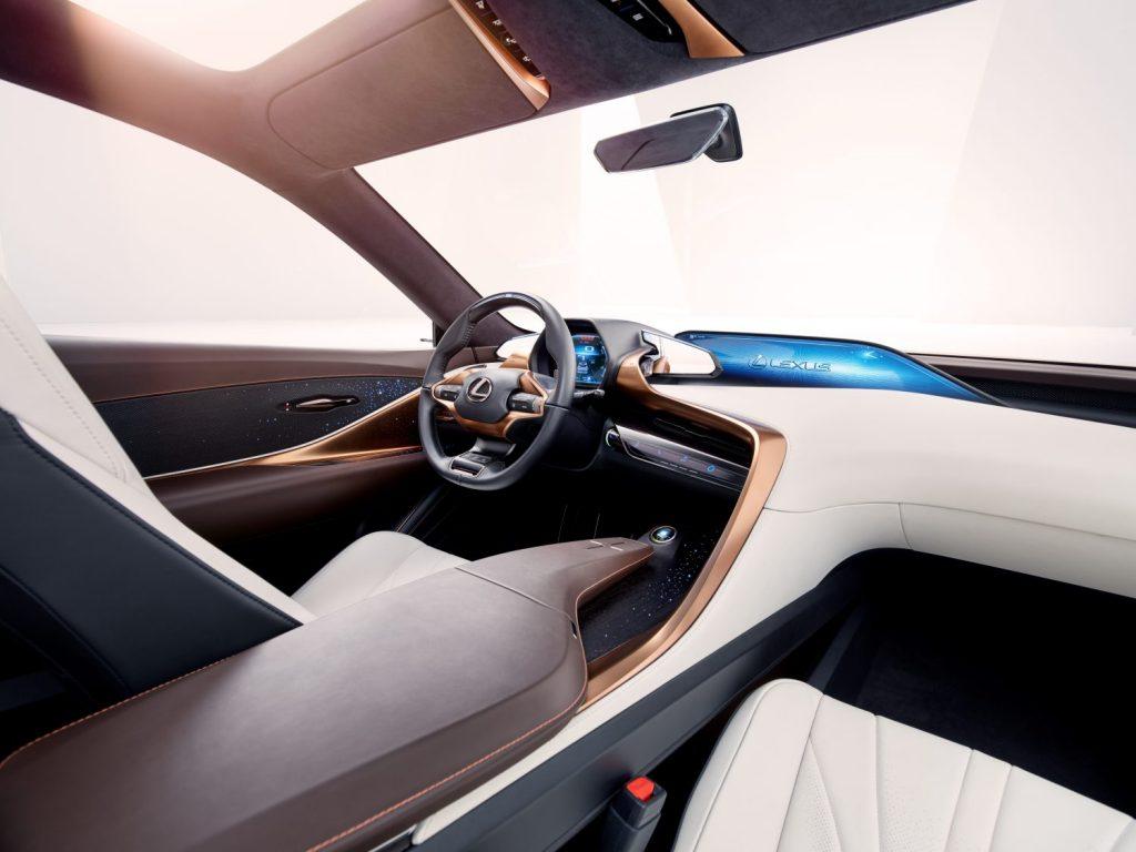 Lexus LF-1 Limitless SUV interior