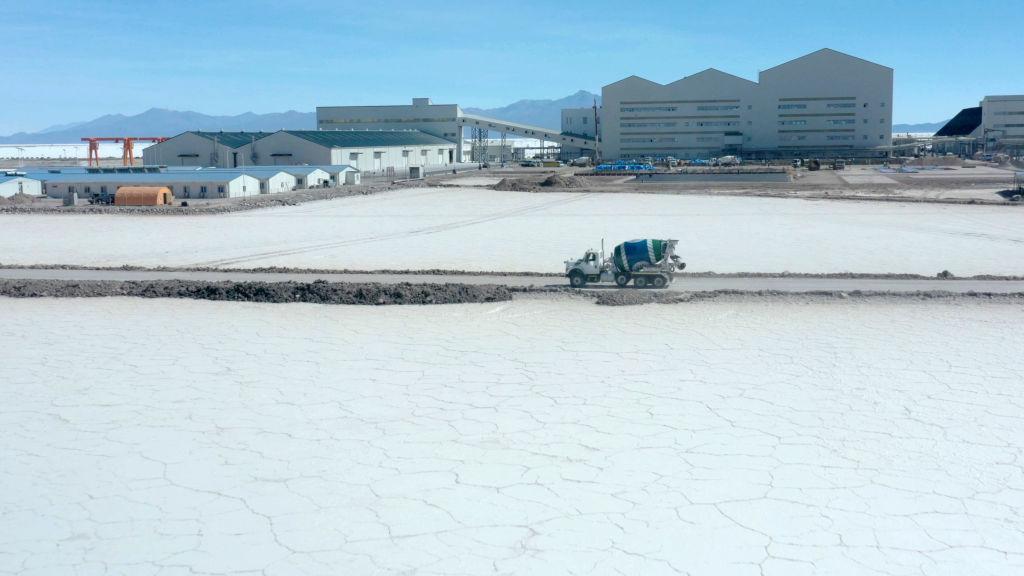 Bolivian lithium mines