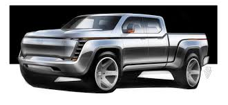 Lordstown Motors EV pickup rendering | Lordstown