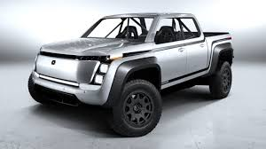 Lordstown Motors EV pickup front 3/4 view