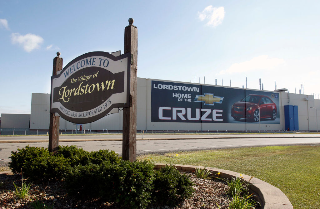 Lordstown, Ohio, GM manufacturing plant