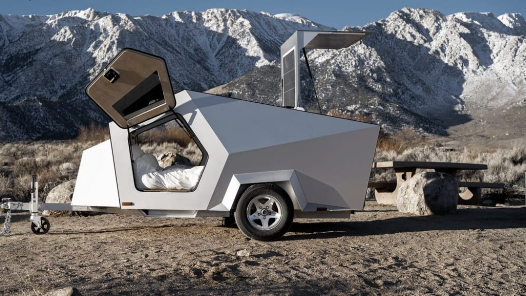 Polydrops teardrop camping trailer outdoors
