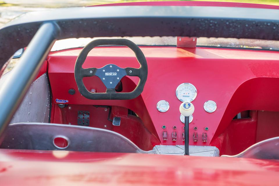 Porsche 911 hot rod interior