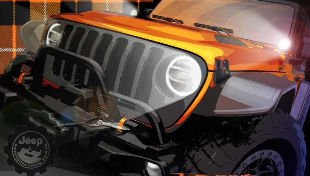 Moab Easter Jeep Moab Concept rendering