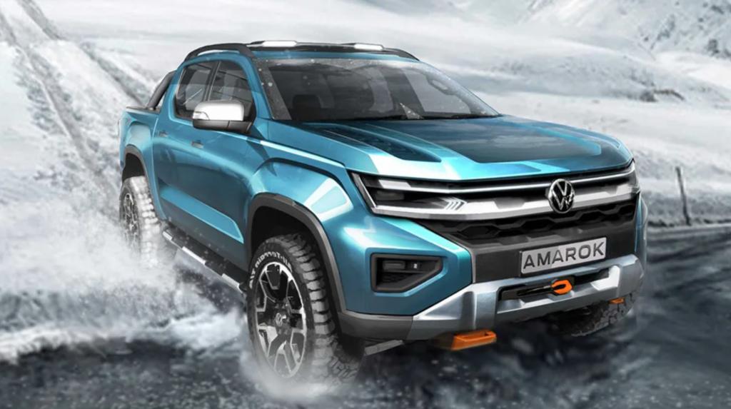 2023 Volkswagen Amarok Rendering