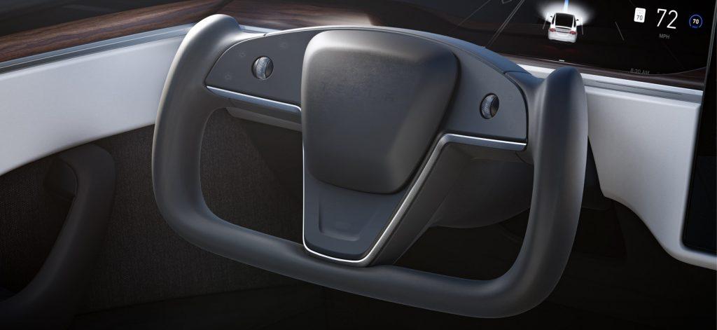 Tesla Yoke steering wheel