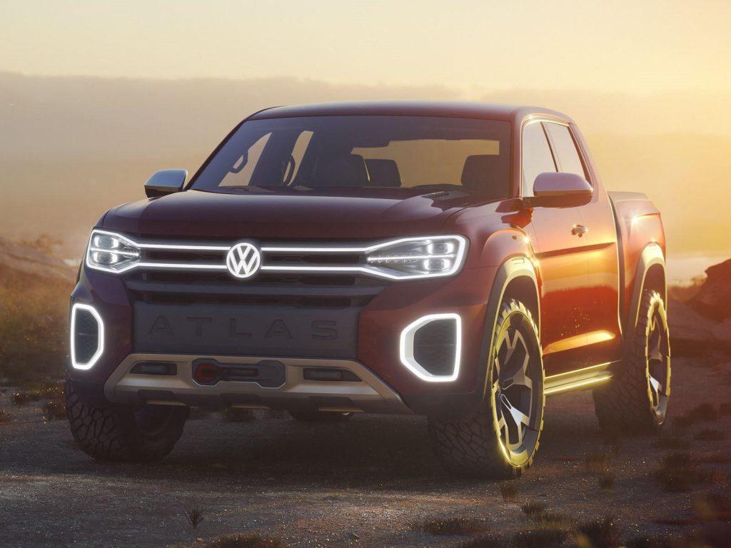 VW Atlas Tanoak pickup concept from 2017