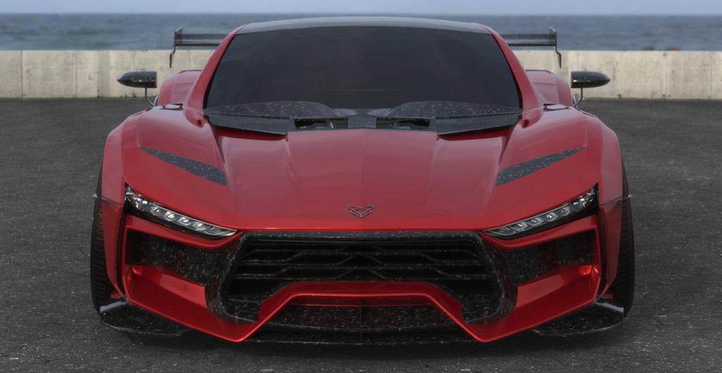 Valarra C6 Corvette front view