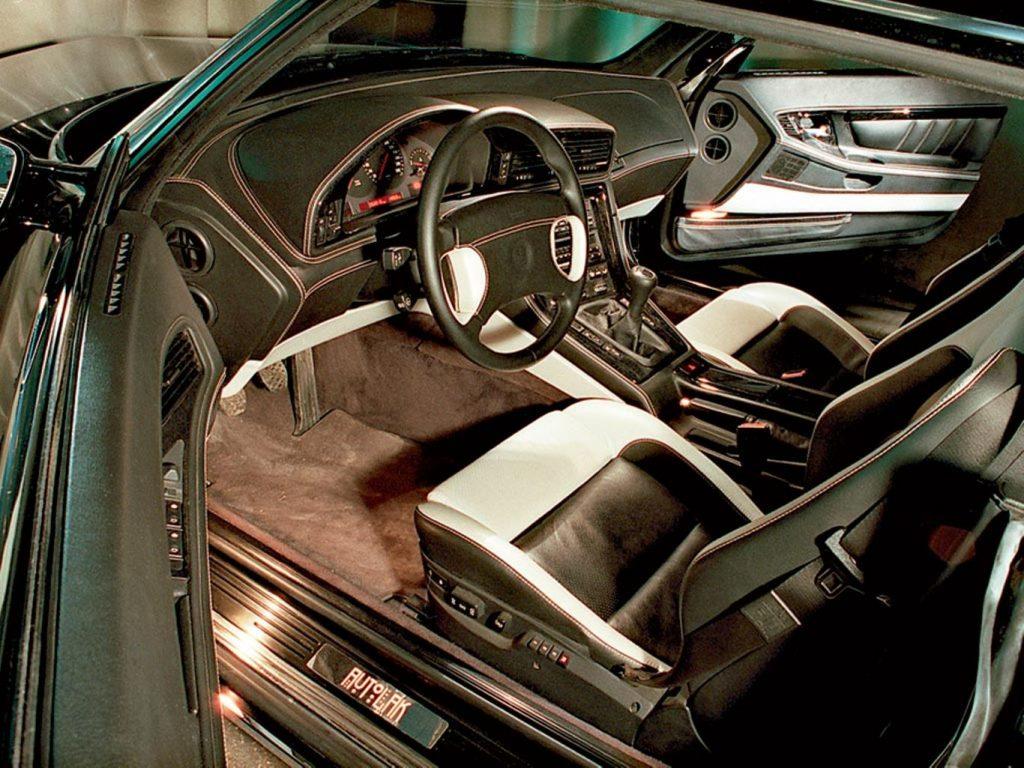 Volga Coupe interior