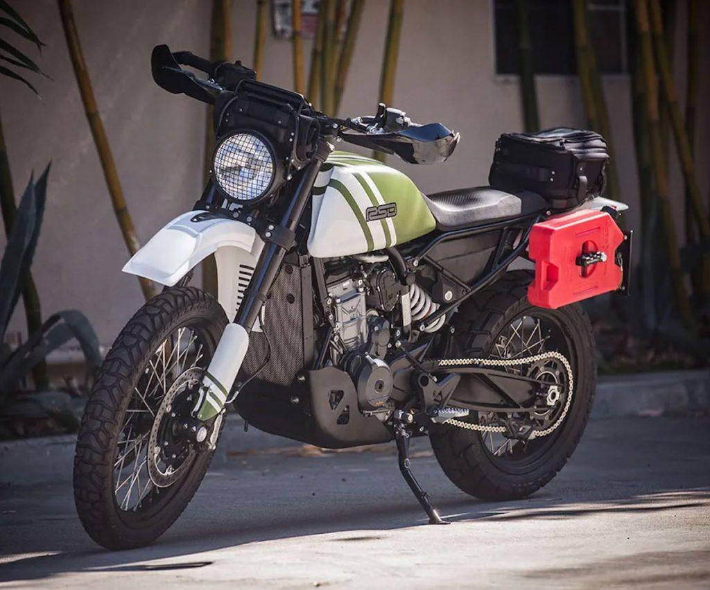 custom built Roland Sands Design KTM 790 adventure