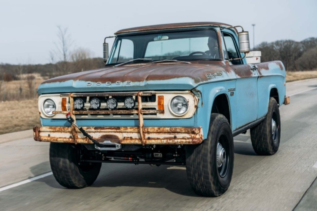 1968 Dodge Power Wagon is basically a Ram TRX in a vintage Dodge pickup truck disguise
