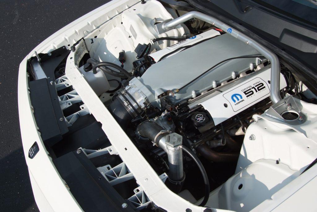2011 Dodge Challenger Drag Pak V10 engine