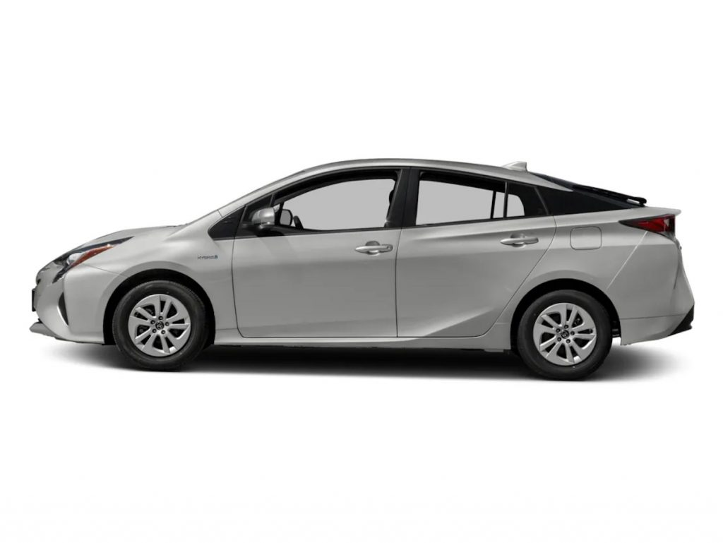 2016 Toyota Prius against a white background