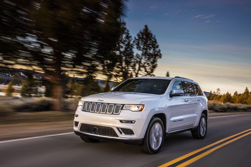 2017 Jeep® Grand Cherokee Summit driving
