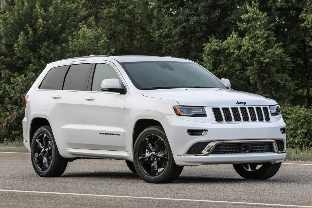 2017 Jeep® Grand Cherokee High Altitude parked