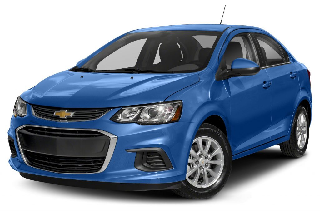 Blue 2020 Chevy Sonic
