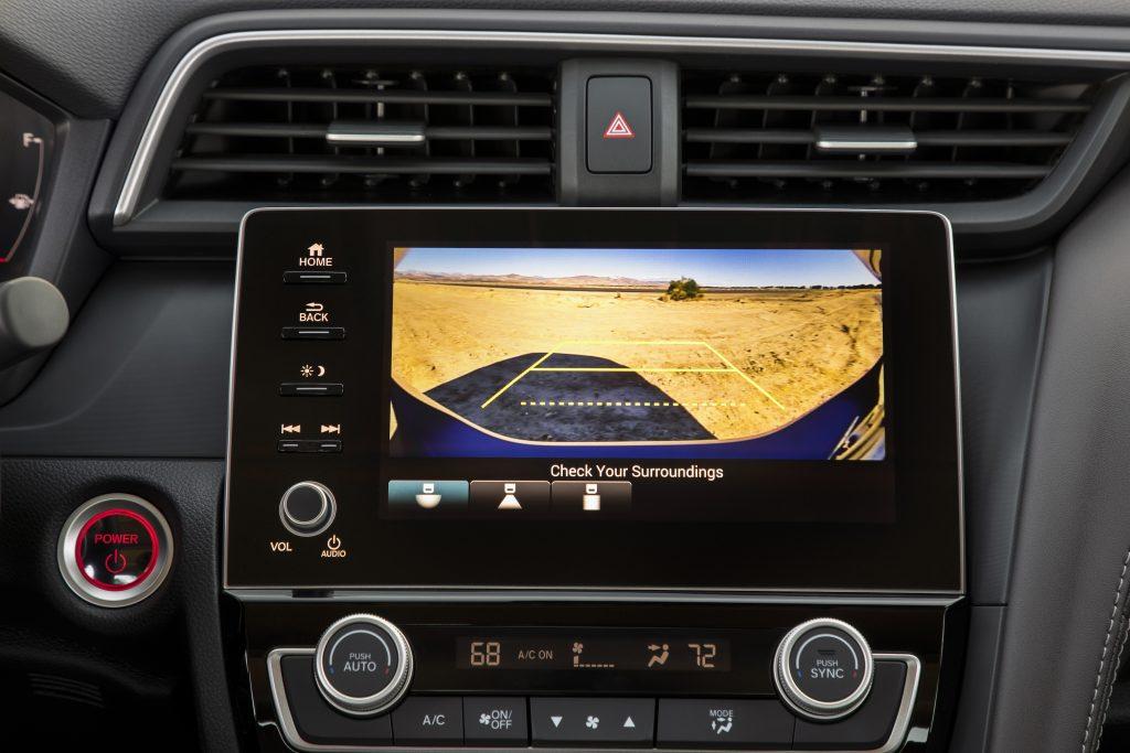 the 2020 Honda Insight EX's infotainment screen