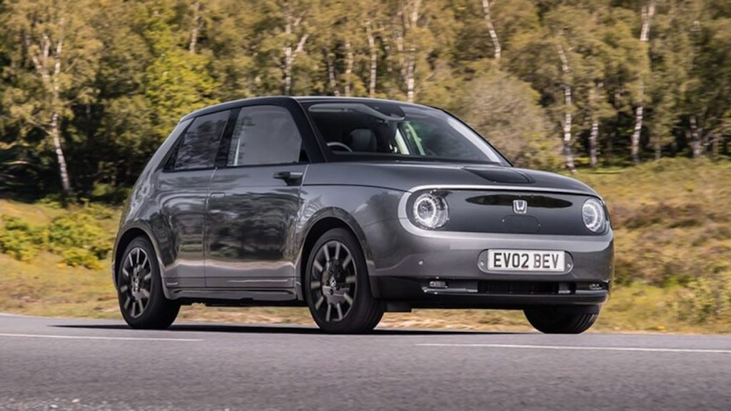 2020-Honda-e-68 gears up for fame for when Honda kills it's gas-powered cars.