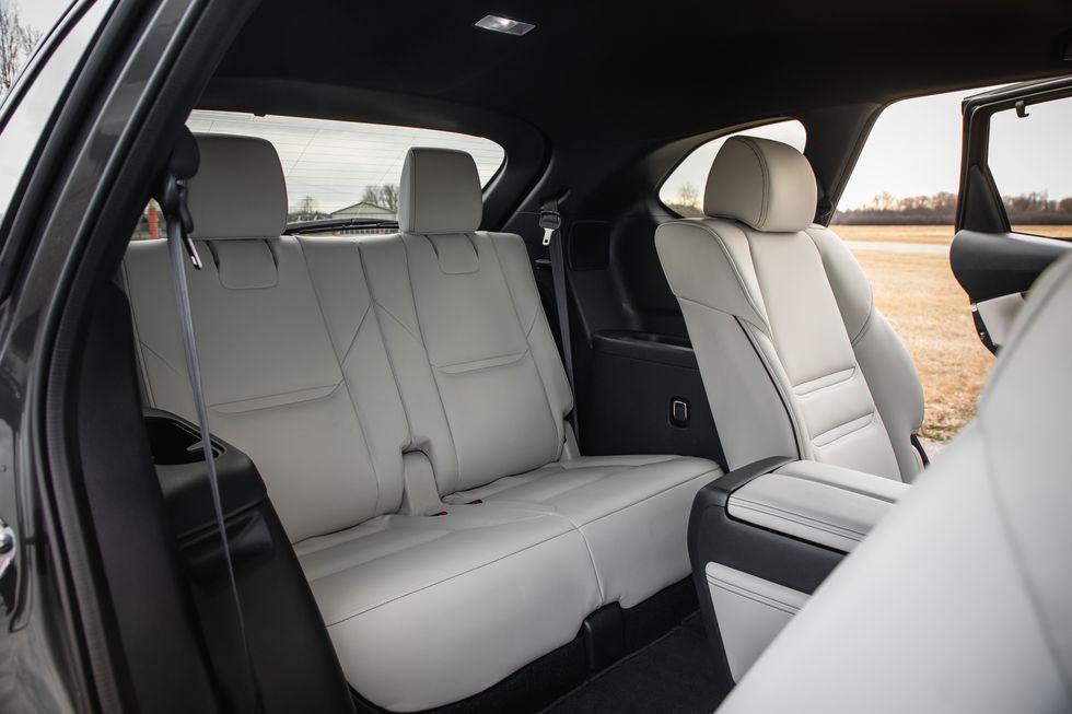 The 2020 Mazda CX-9 third row