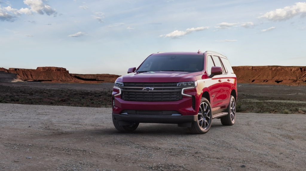 2021 Chevrolet Tahoe RST parked
