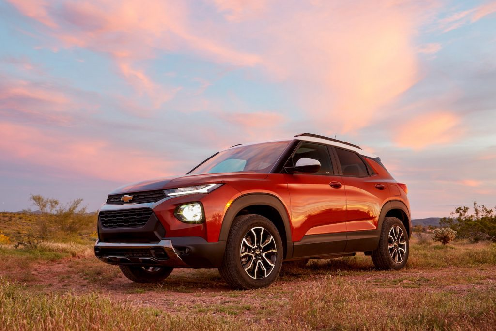 2021 Chevrolet Trailblazer ACTIV parked