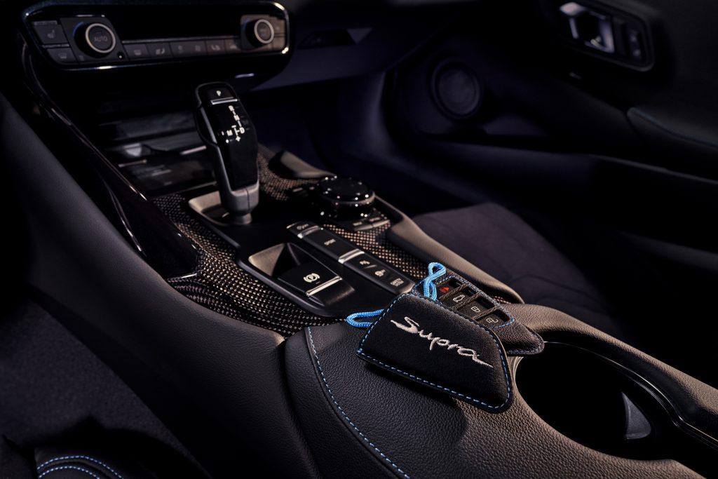 2021 Toyota Supra 2.0 Shifter