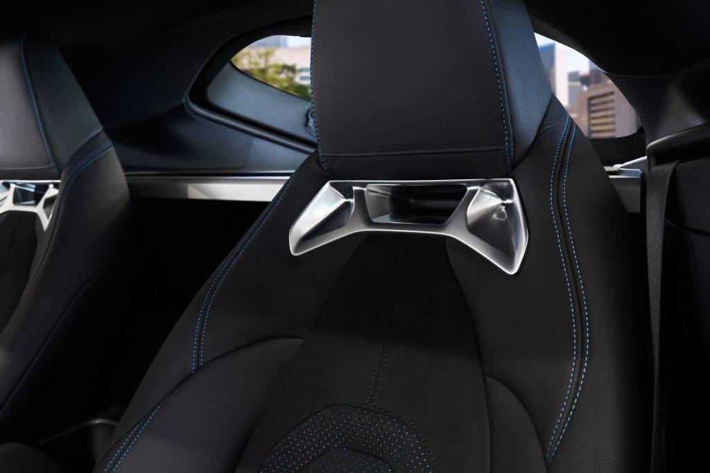 2021 Toyota Supra 2.0 seat backs