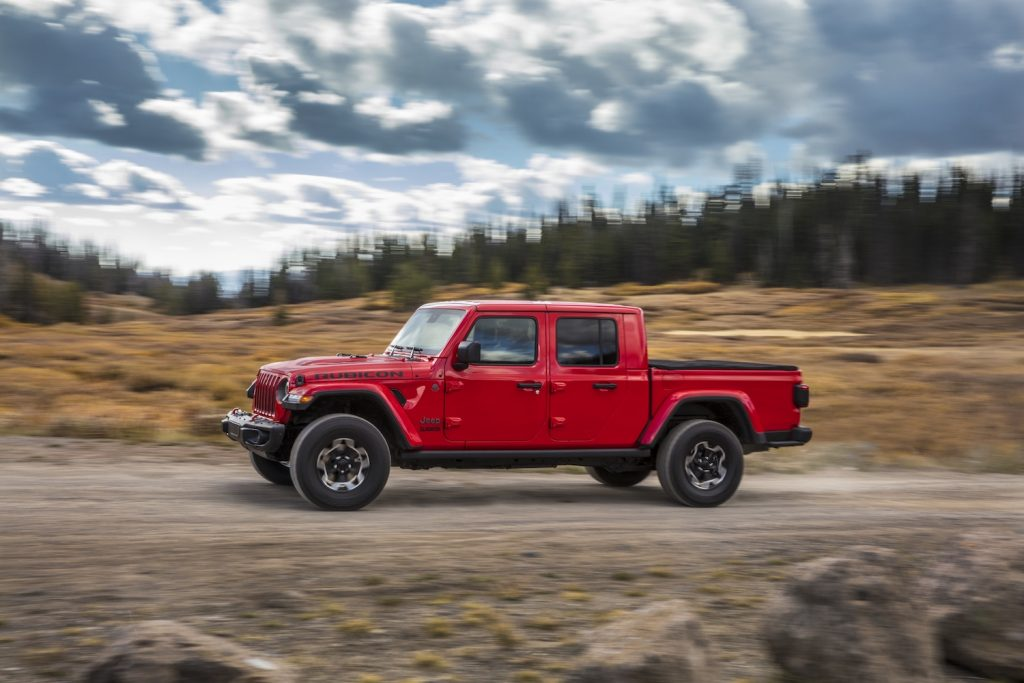 2021 Jeep® Gladiator Rubicon driving