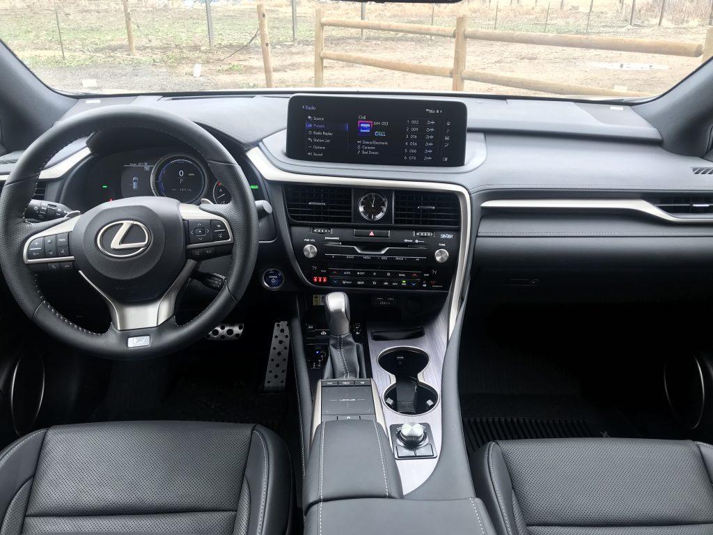 2021 Lexus RX 450h Interior   Joe Santos