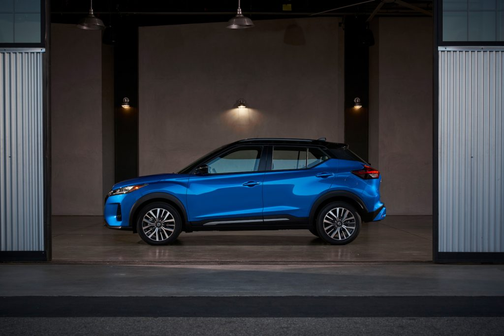 2021 Nissan Kicks parked