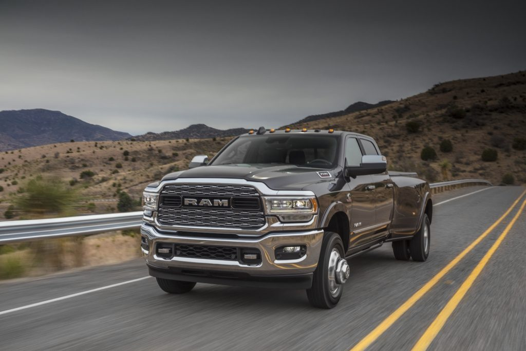 2021 Ram 3500 Heavy Duty Limited Crew Cab Dually driving