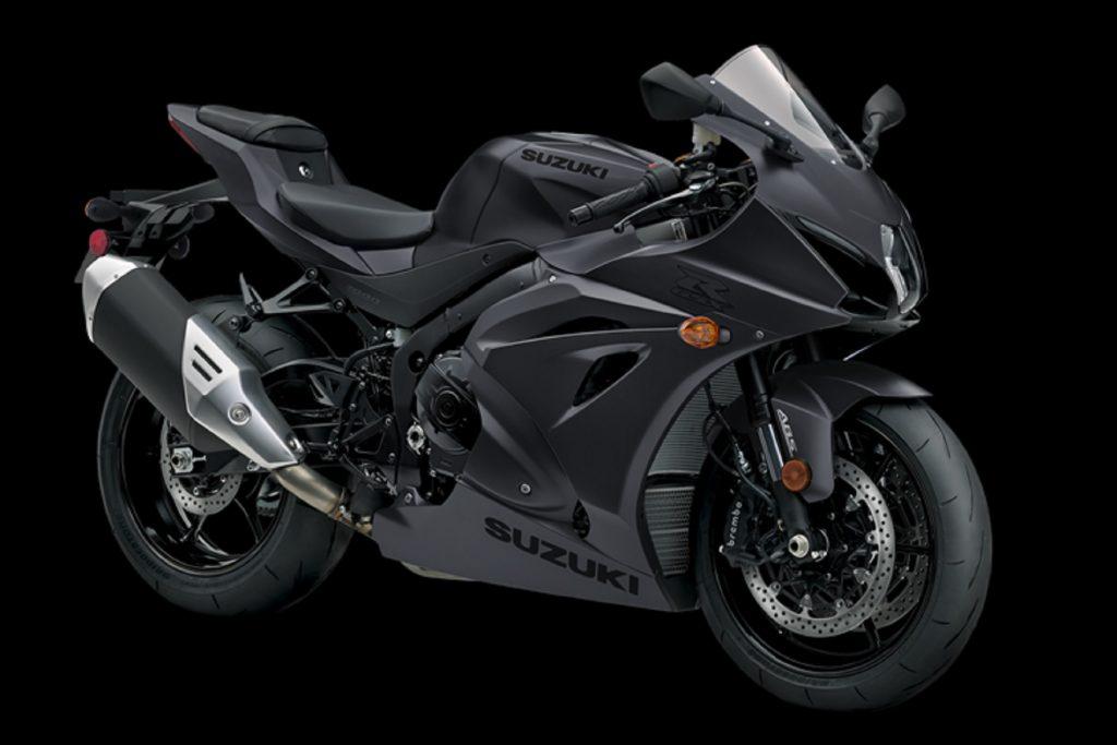 A black 2021 Suzuki GSX-R1000