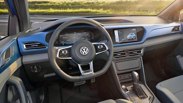 2021 Volkswagen Tarok Interior