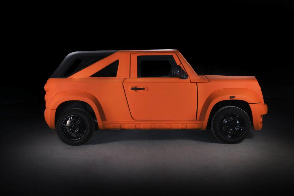 2021 Wallyscar IRIS in bright orange
