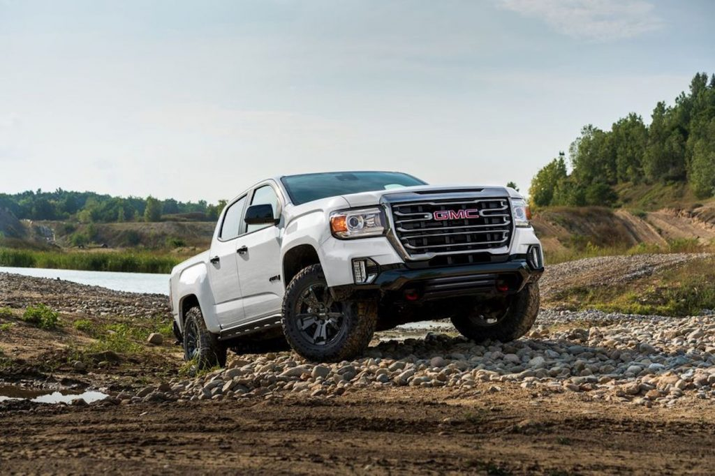 2021 GMC Canyon sales have jumped thanks to this AT4 Off-Road- Performance Edition