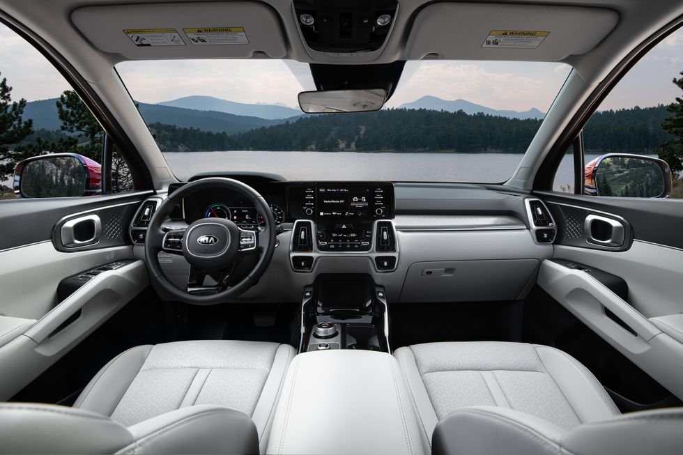2021 Kia Sorento Hybrid Interior
