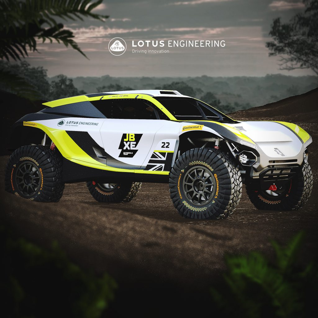 The new Lotus Extreme E