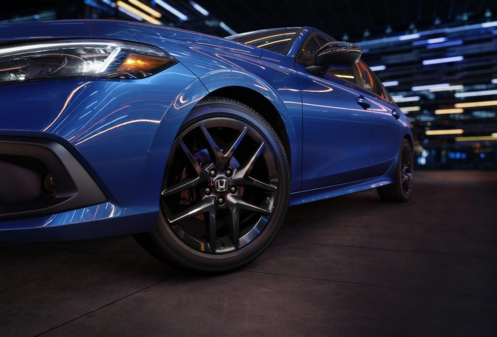 2022 Honda Civic Sport wheel