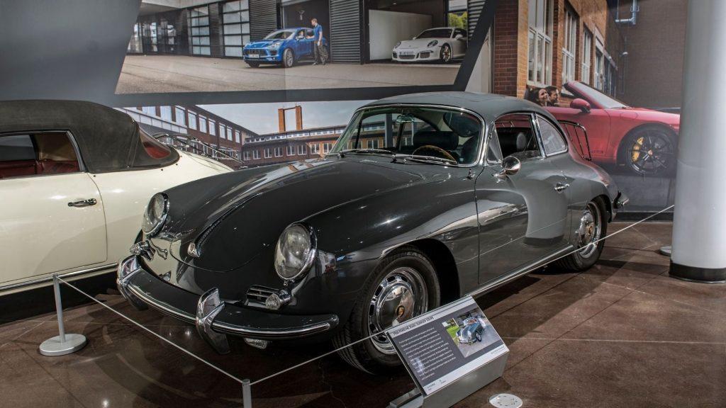 Porsche 356 Coupe C in grey