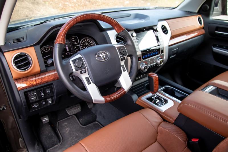 2021 Toyota Tundra 1974 Edition Interior
