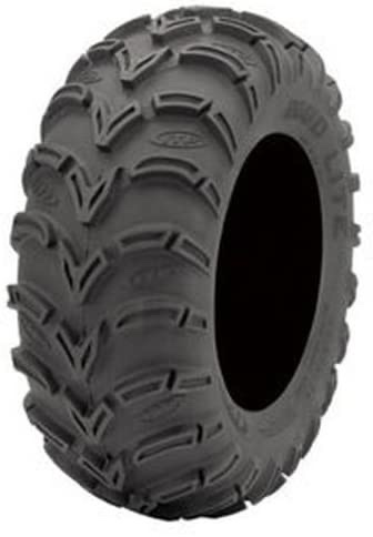 a press photo of the ITP Mud Lite AT Mud Terrain ATV and UTV tire against a white backdrop