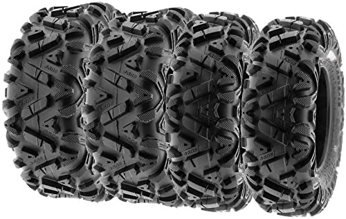 a set of four SunF Power I tires against a white backdrop