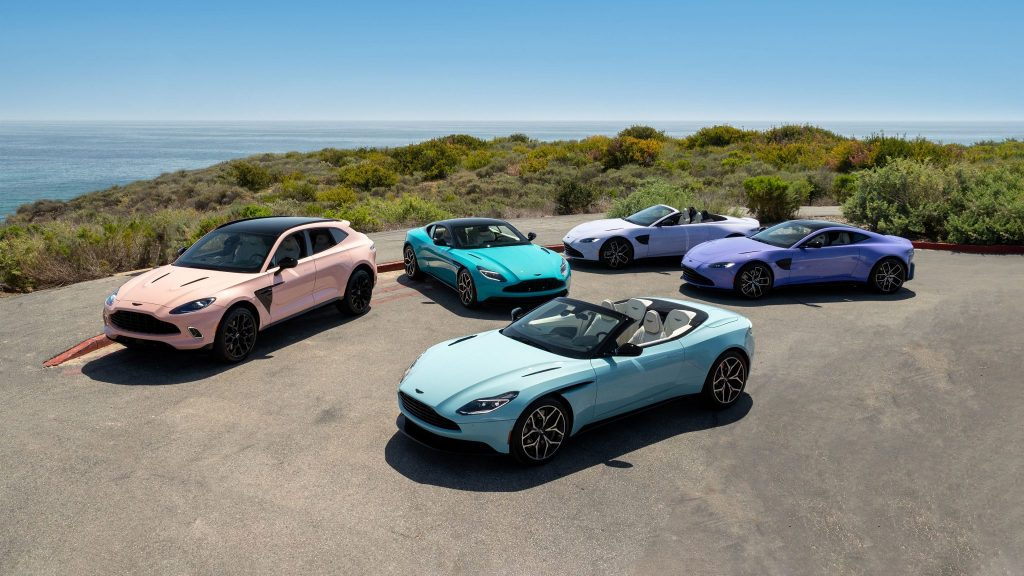 The Aston Martin Pastel Collection