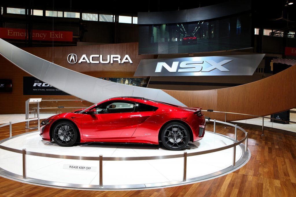 2017 Acura NSX at the 107th Annual Chicago Auto Show.
