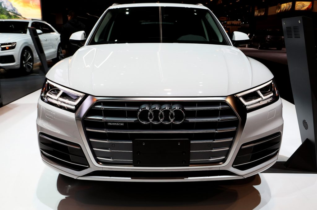 2019 Audi Q5 is on display at the 111th Annual Chicago Auto Show at McCormick Place