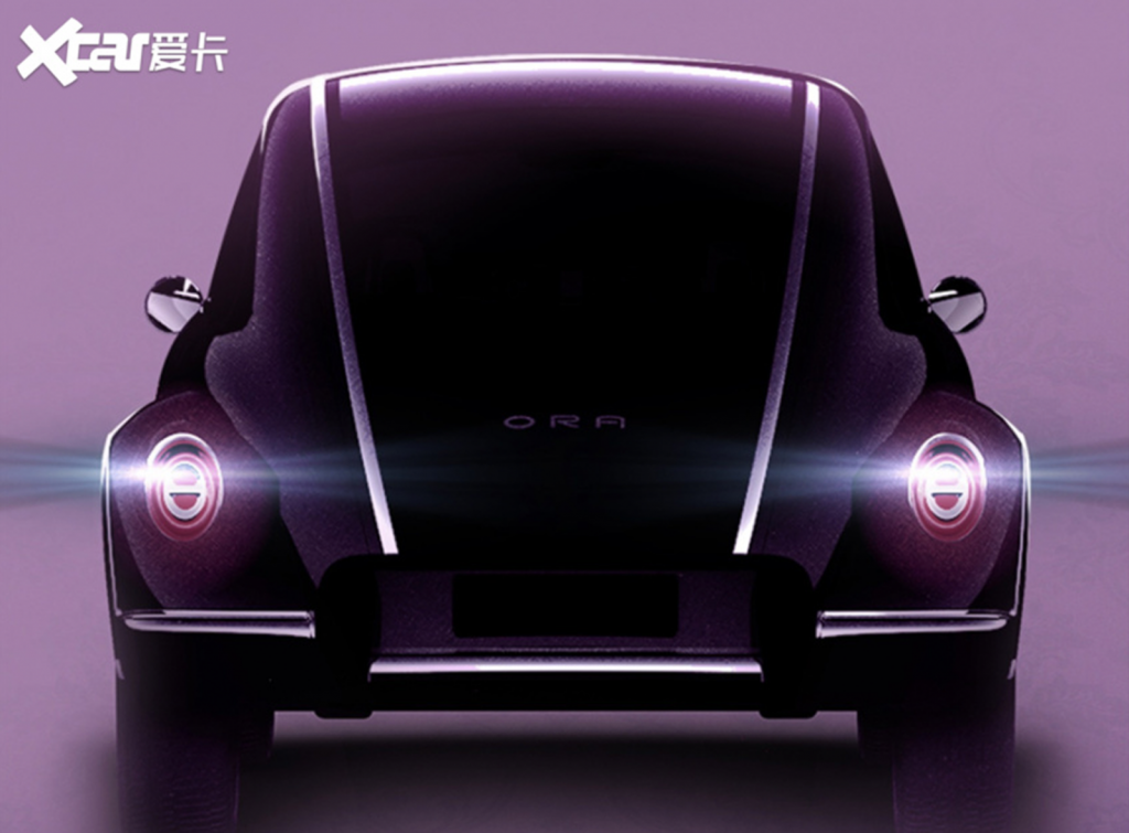 China's ORA Beetle knockoff rear view