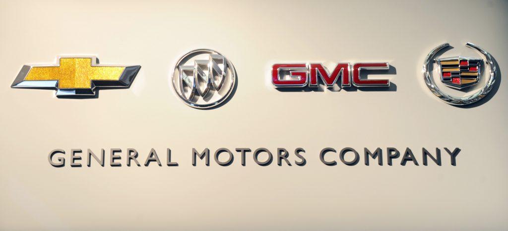 Logos that live under the General Motors umbrella