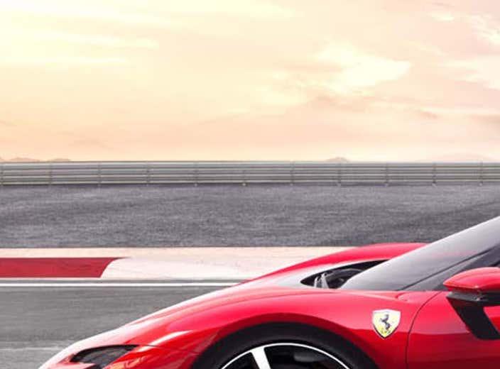 Ferrari SF90 Stradale hybrid side