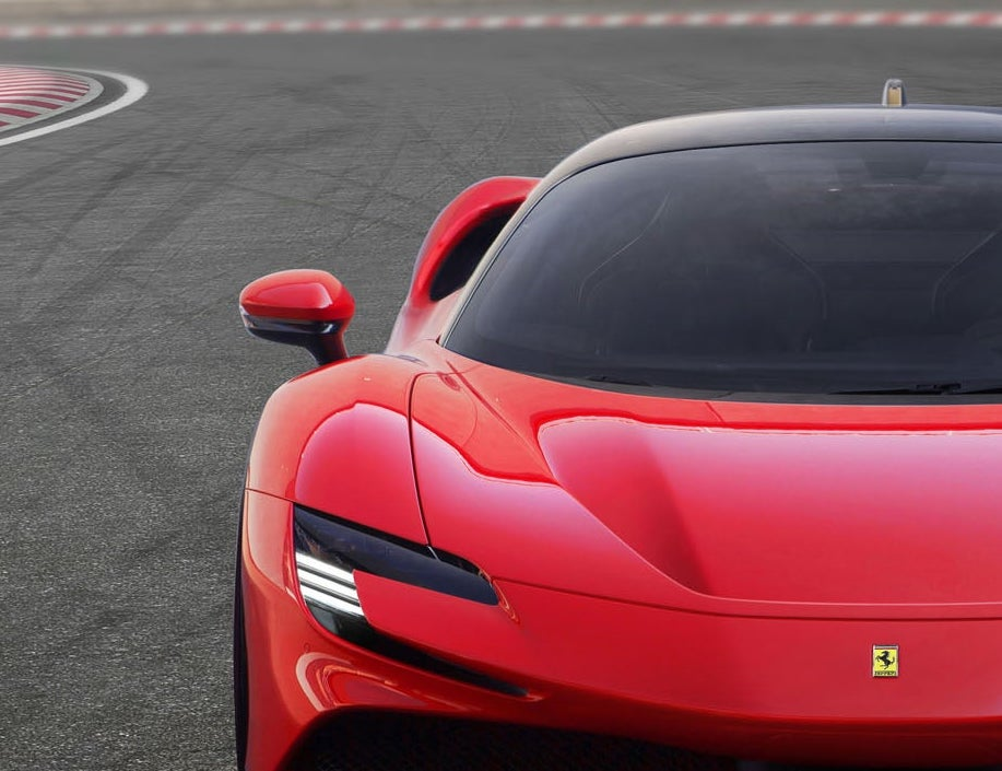 Ferrari SF90 Stradale hybrid. Ferrari